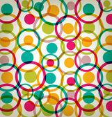 Vector 80s Color Vintage background