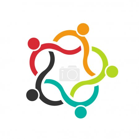 Teamwork Wave 5 logo of people group