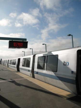 BART Train at West Oakland Station