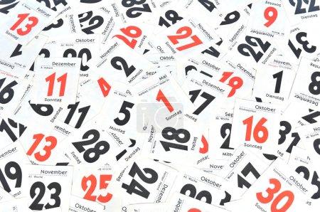 Foto de Días calendario - Imagen libre de derechos