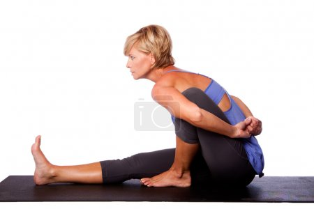Focus concentration in yoga