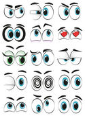Some cartoon eyes expressing different moods
