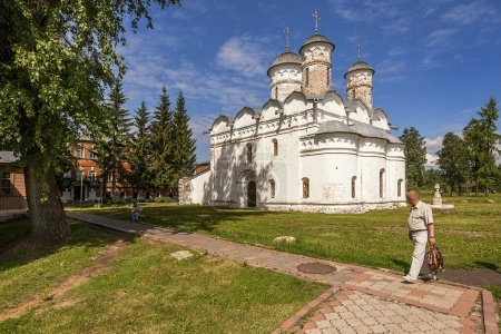 Photo for Suzdal. Cathedral of the Blessed Virgin Mary Reese provisions in Rizopolozhenskiy monastery - Royalty Free Image