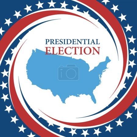 Voting Symbols vector design presidential election...