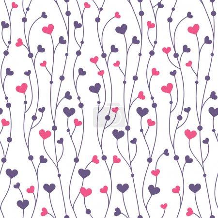 Ilustración de Fondo abstracto geometrico colorido transparente con corazones - Imagen libre de derechos