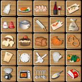 Cooking squared icons
