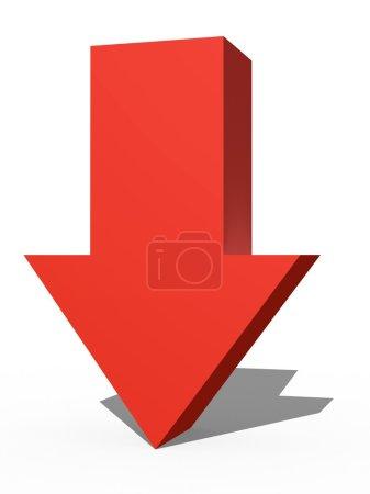 3D Arrow Sign