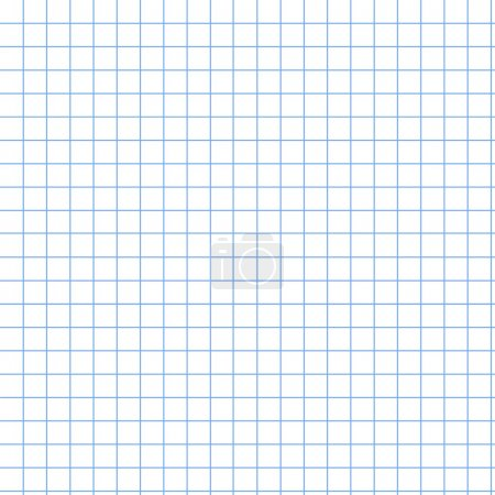 Photo for An illustative grid graph pattern or background - Royalty Free Image