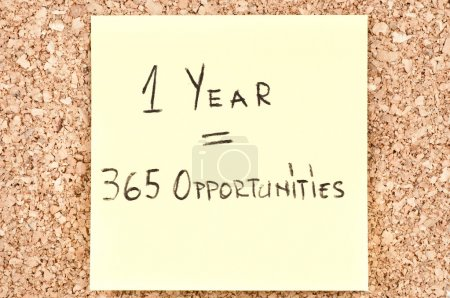 """1 Year 365 Opportunities"""