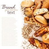 """Постер, картина, фотообои """"Различные виды свежего хлеба"""""""