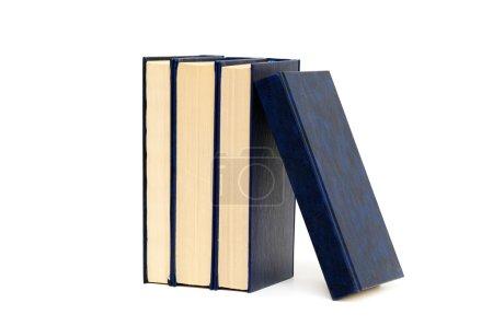 Photo pour Livres isolés sur fond blanc - image libre de droit