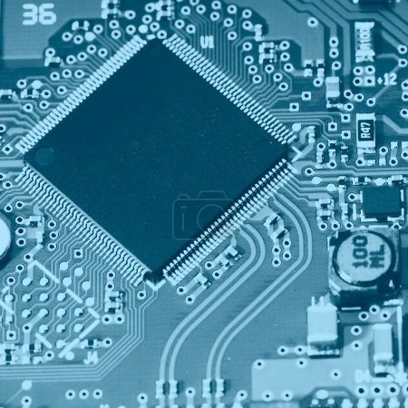 Photo for Electronic circuit - Royalty Free Image