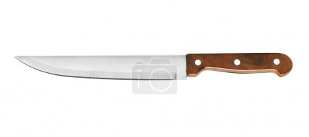 Photo for Kitchen-knife isolated on a white background - Royalty Free Image