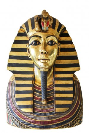 Modern copy of ancient egyptian Tutankhamen's mask...