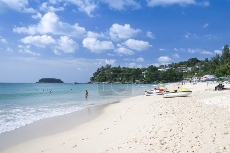 Kata beach tourists phuket island
