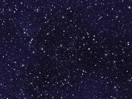 Photo for Night sky covered with many bright stars - Royalty Free Image
