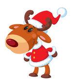 deer Santa funny