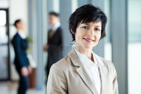 Photo for Modern middle aged businesswoman portrait - Royalty Free Image