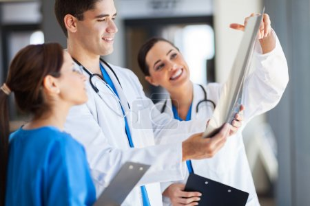 Photo for Group of healthcare workers working together - Royalty Free Image
