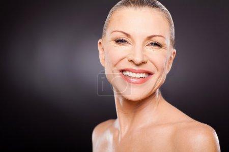 Mid age woman portrait