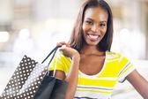 black lady shopping