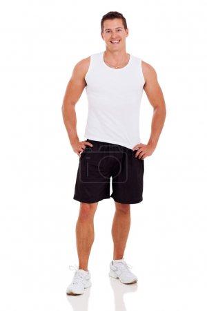 fitness man in sportwear