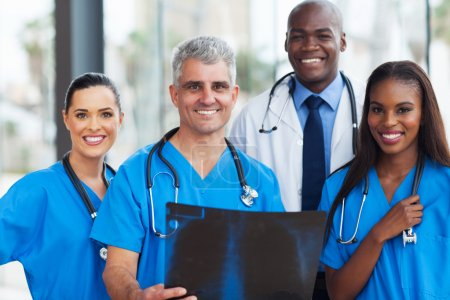 Team of medical workers