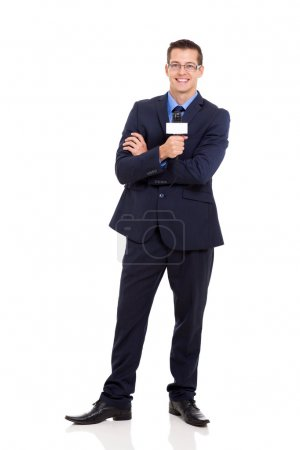 news reporter holding microphone