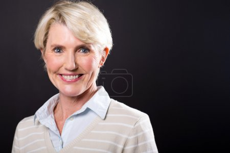 Cute middle aged woman