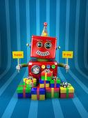 Všechno nejlepší k narozeninám robot