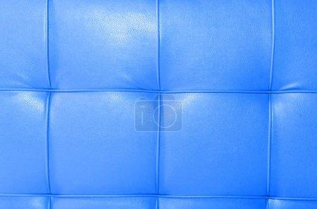 Photo pour Fond bleu sellerie cuir - image libre de droit