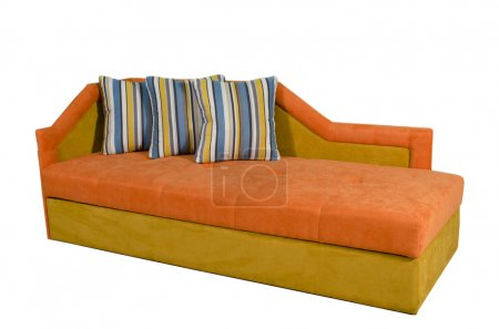 Photo for A contemporary colorful sofa - Royalty Free Image