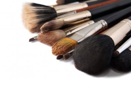 Photo pour Pinceaux de maquillage - image libre de droit