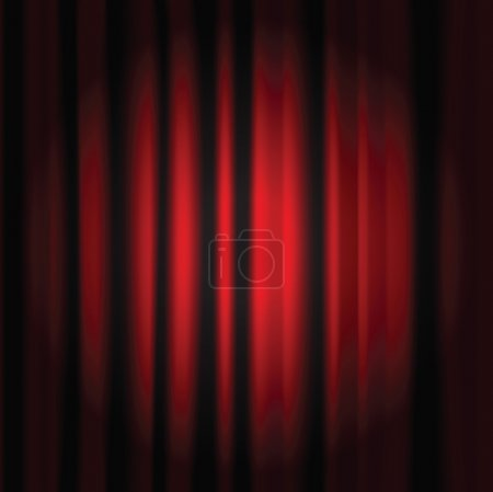 red curtain copy