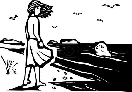 Beobachten einer Robbe