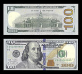 New one hundred dollar bill