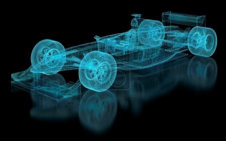 Photo pour Maille de Formule 1. Partie d'une série . - image libre de droit