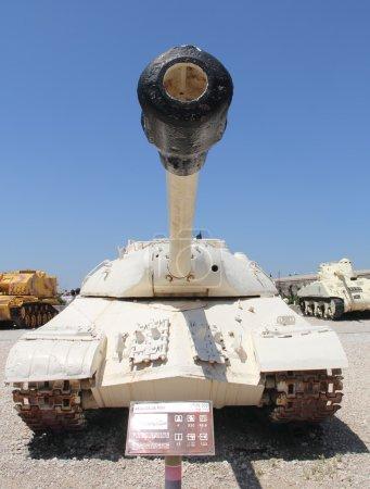 Photo pour Tank Joseph Staline - 3 au Musée Israélien du Corps Armé - image libre de droit