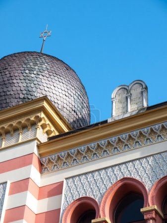 Roof of a synagogue