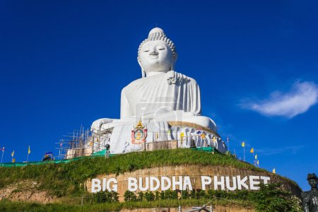 Big Buddha monument in Thailand
