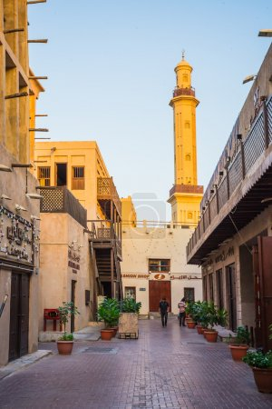 Arab Street in the old part of Dubai