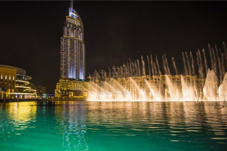 Record-setting fountains