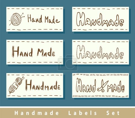 Handmade labels.