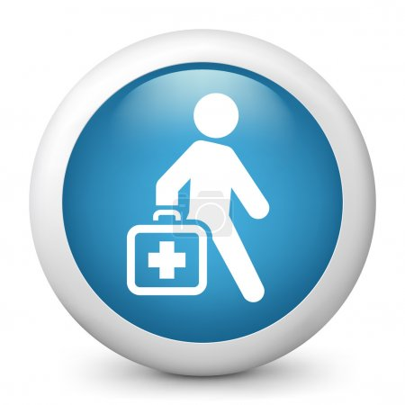 icon depicting a doctor walks