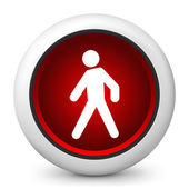 icon depicting a pedestrian traffic light
