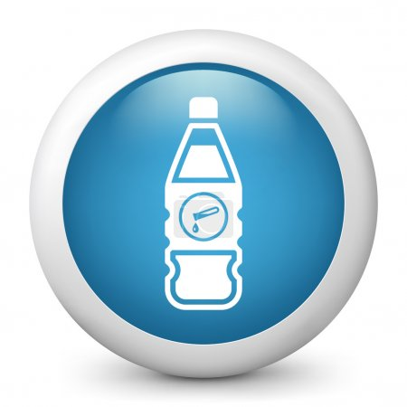 Bottle containing liquid dangerous