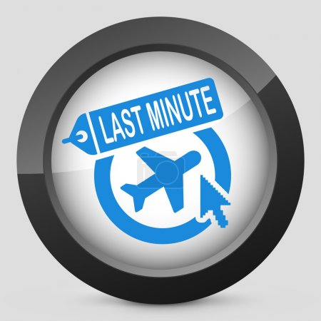 Last minute airline link icon