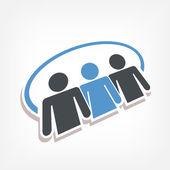 Social icon 3d