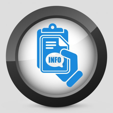 Info document icon