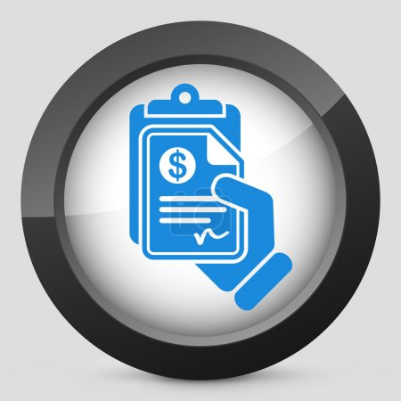 Money document icon